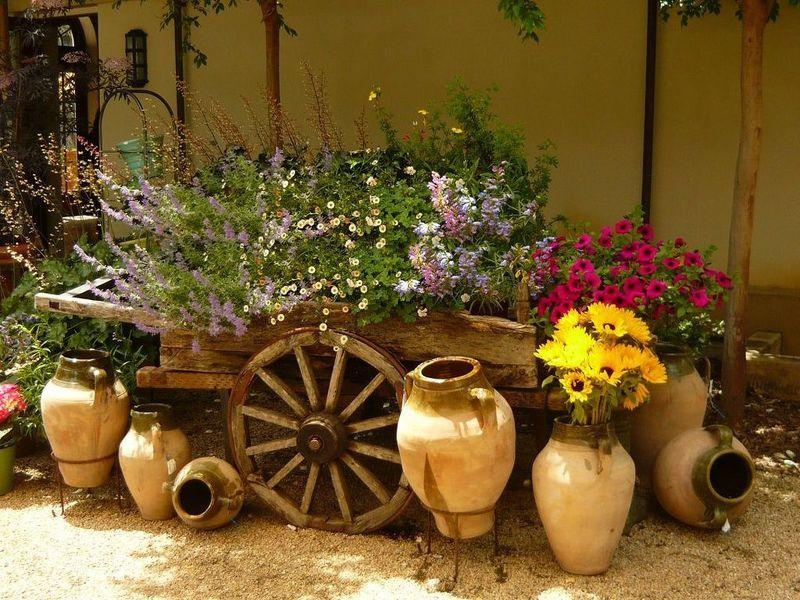 Кувшин своими руками для сада
