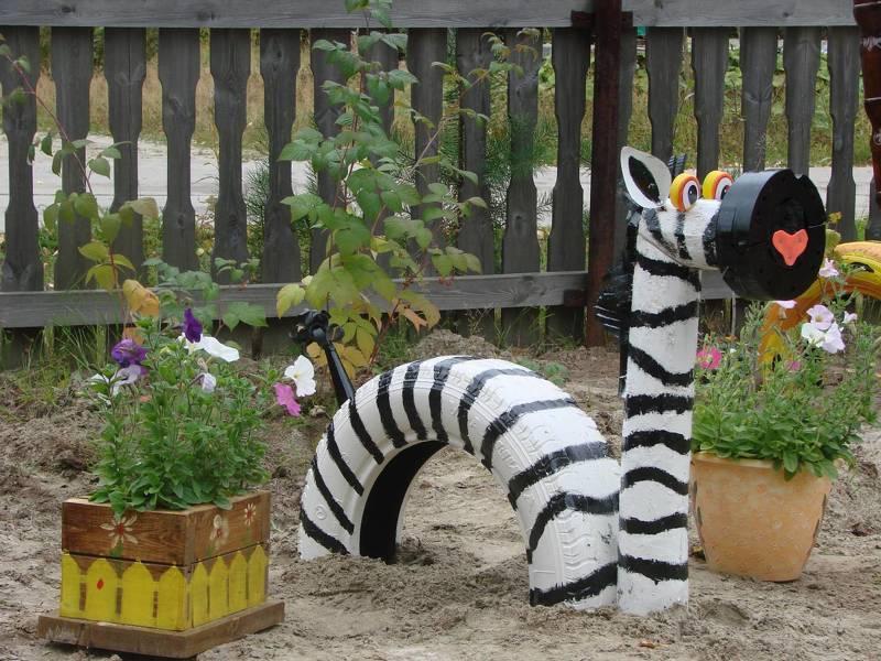 как сделать фигуру в сад