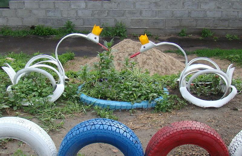 Фигурки для сада своими руками фото 91
