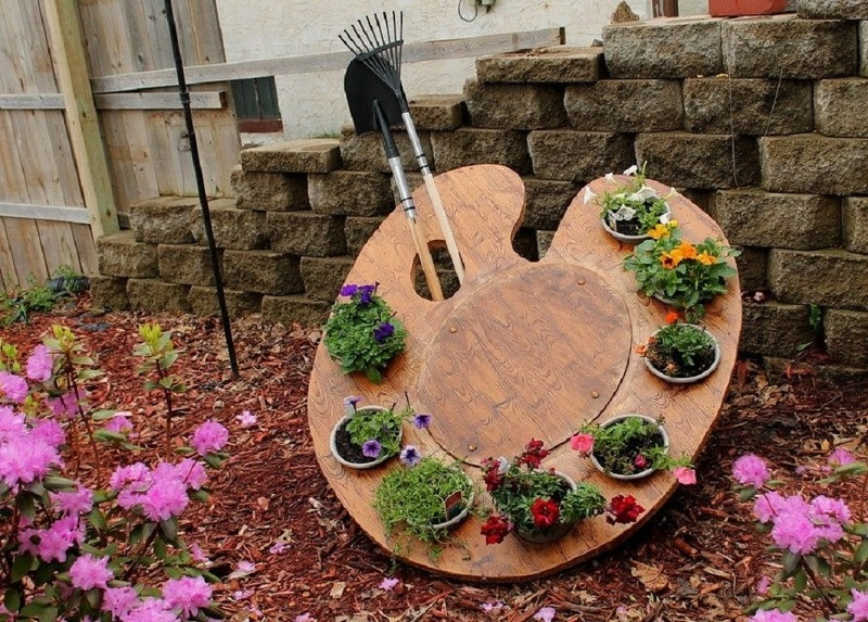 Украшаем сад и огород своими руками фото фото 663