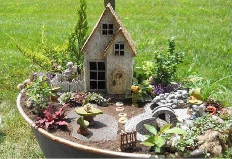 Сад и огород своими руками фото - сказка в горшке