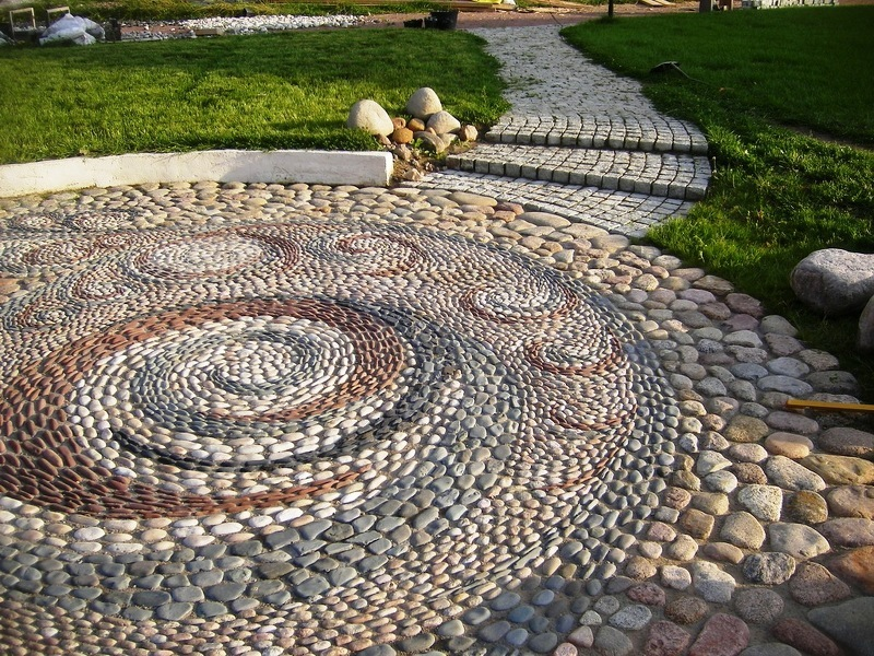 Идеи для сада и огорода фото садовой дорожки