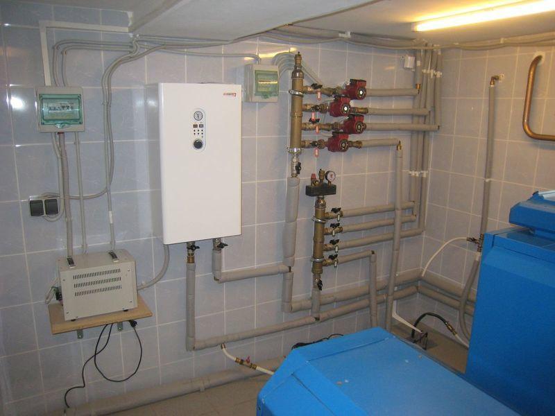 Схема отопления частного дома своими руками схема
