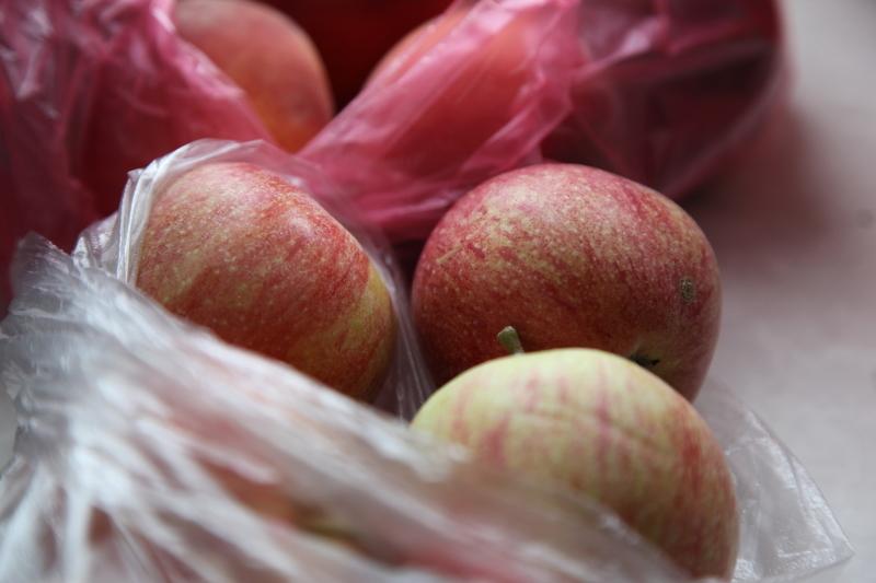 Как хранить яблоки в полиэтиленовых пакетах