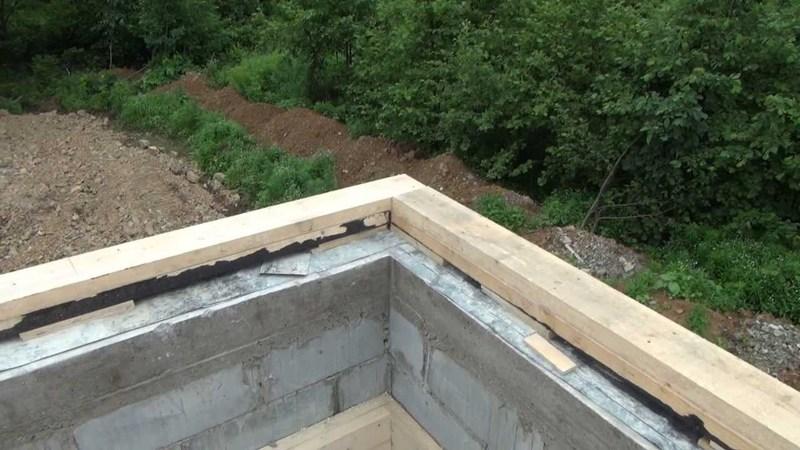 Как сделать крышу: укладка мауэрлата