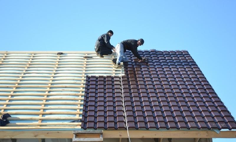 Крыша из металлочерепицы своими руками пошагово видео