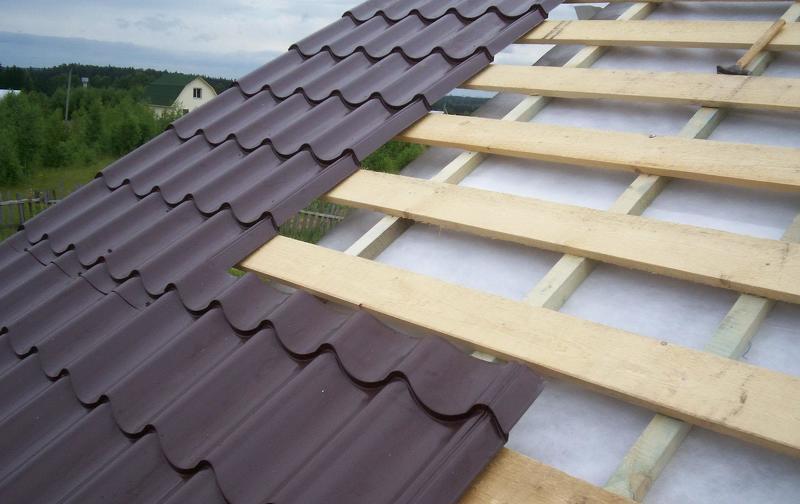 Пенополиуретаном ремонт крыши