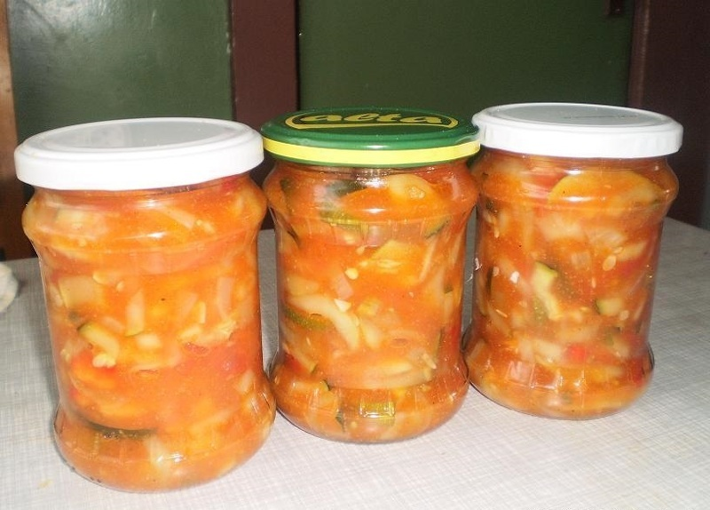 Салат из риса с томатной пастой на зиму рецепты