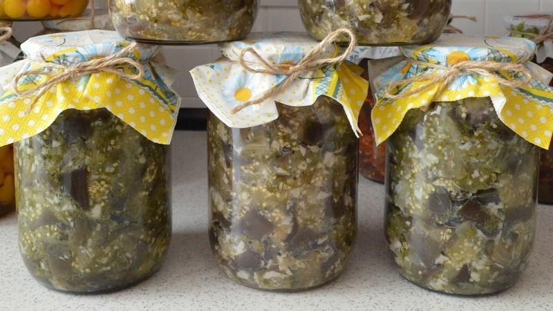 как приготовить баклажаны на зиму как грибы сонник