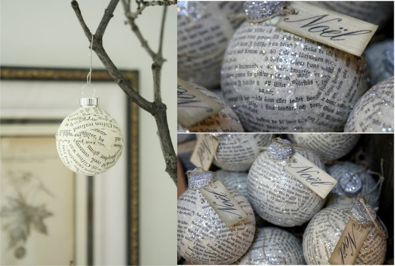 Большие шарики на елку своими руками