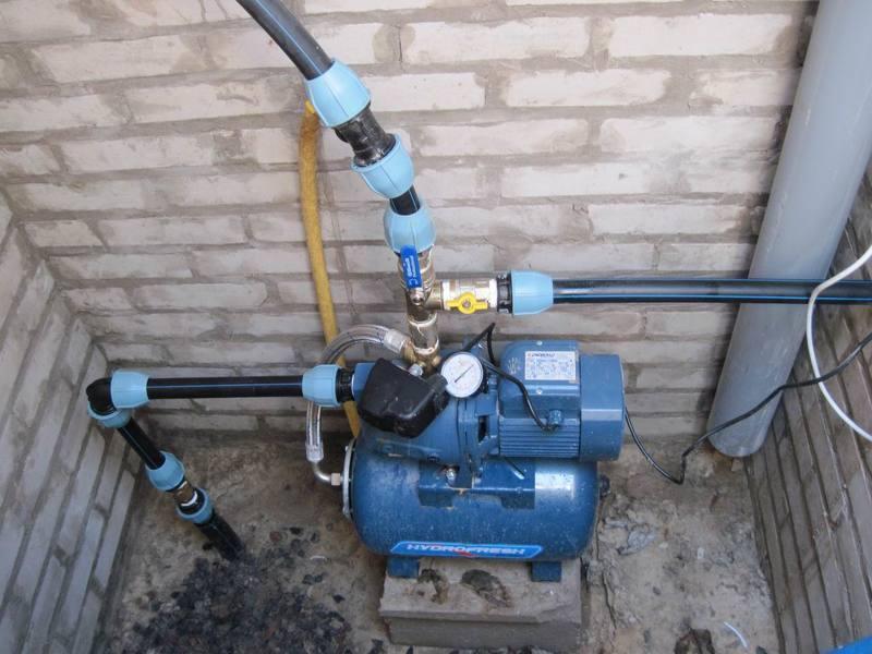 Насос для летнего водоснабжения на даче