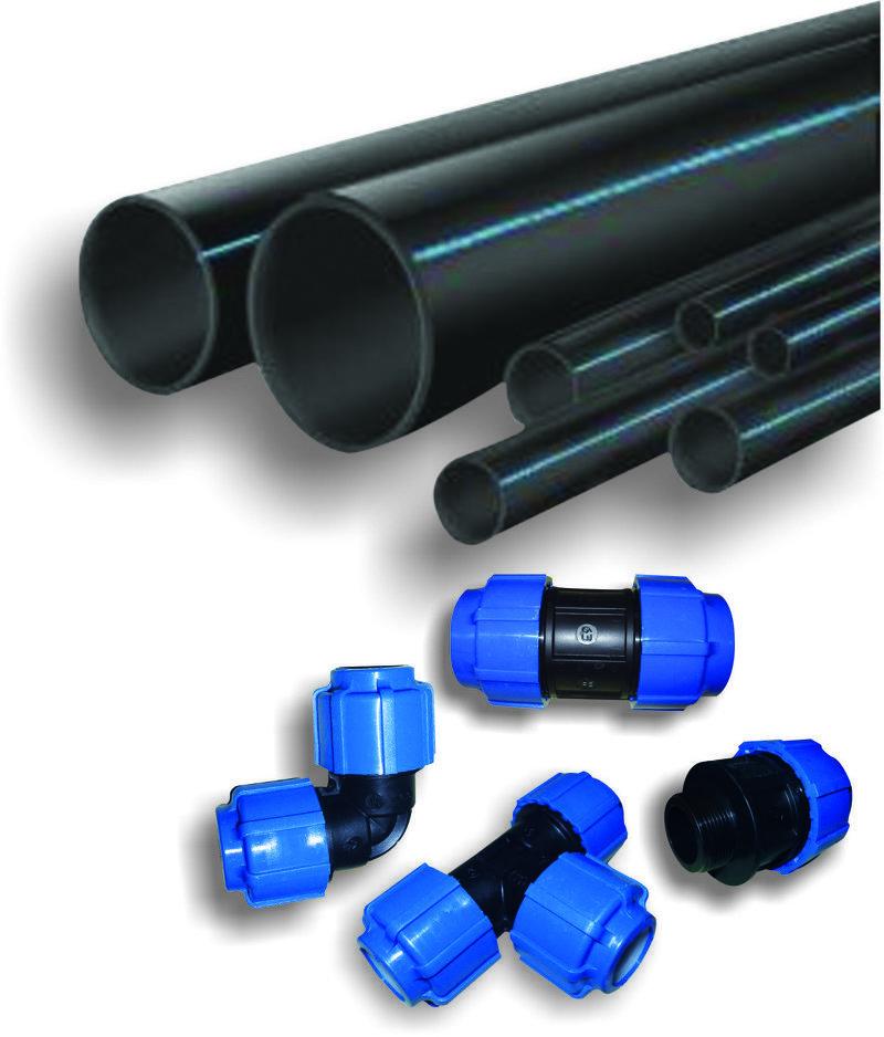 Полиэтиленовые трубы для водоснабжения на даче