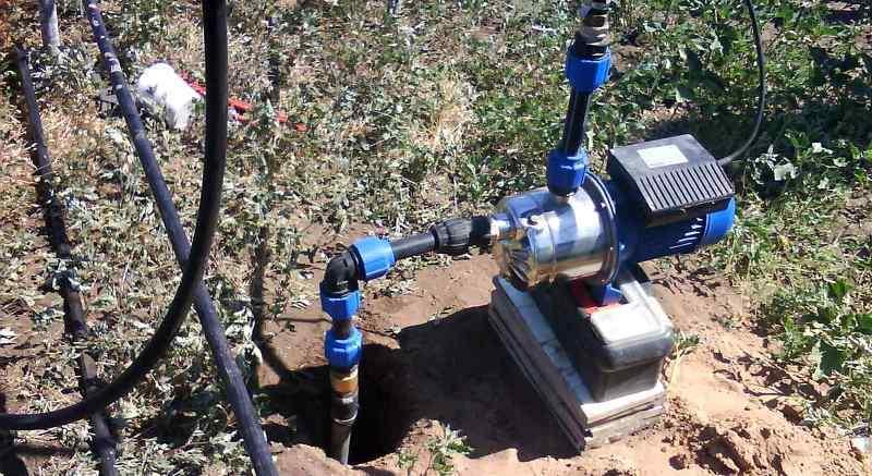 Дачный летний водопровод из скважины