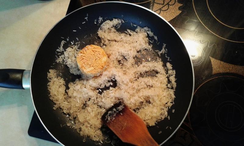 Овощи замороженные с курицей на сковороде рецепт