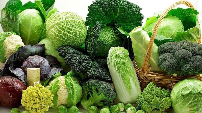 Капуста с зелеными соцветиями