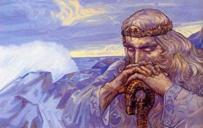 Коляда или Корочун - бог начала нового года в природе