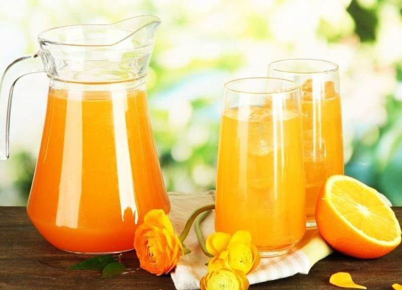 Как сделать сок из одного замороженного апельсина 676