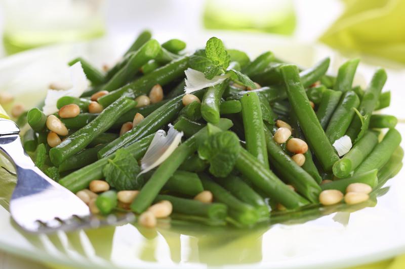 Блюдо из кукурузы и спаржевой фасоли полезно для людей с диабетом