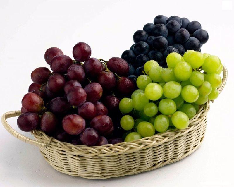 Красный виноград полезные свойства