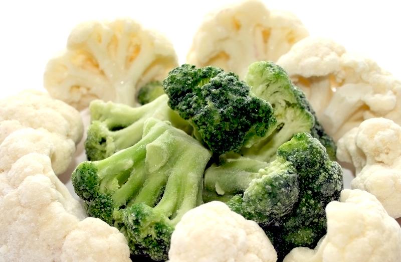 При правильной заморозке цветная капуста сохраняет все полезные свойства