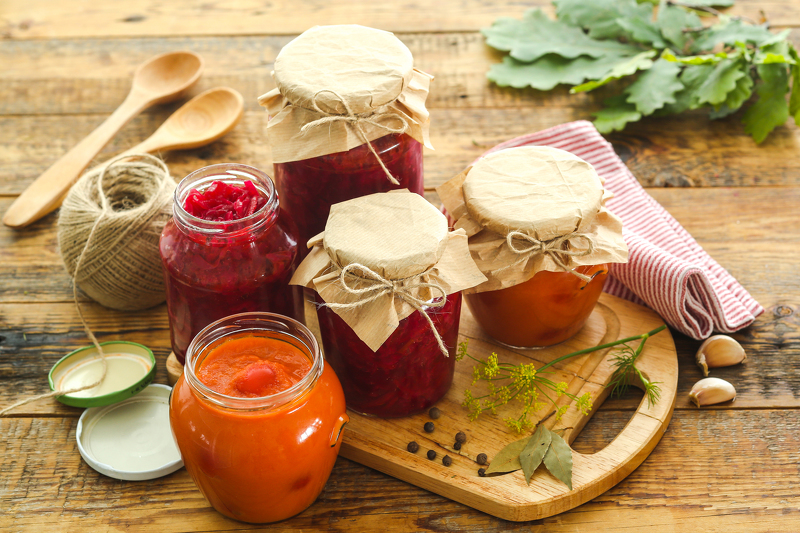рецепты закусок и салатов на зиму с фото