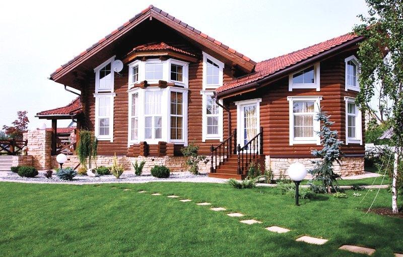 Проекты домов из камня фото