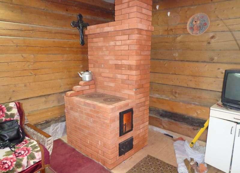 Печка для дачи из кирпича: фото, схемы, инструкция - Всаду. ру 78