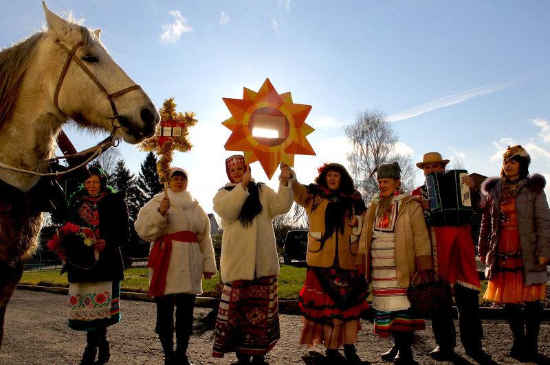 Гулянья на Коляду в России