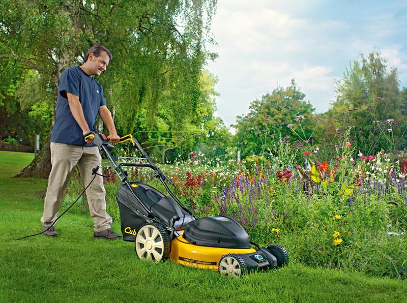 как выбрать газонокосилку для дачи