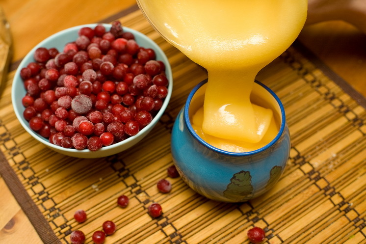 Клюква с медом - защитное средство от всех болезней