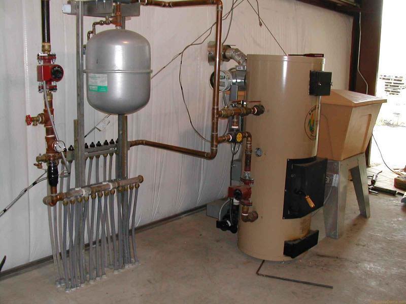 Котел комбинированный газ дрова