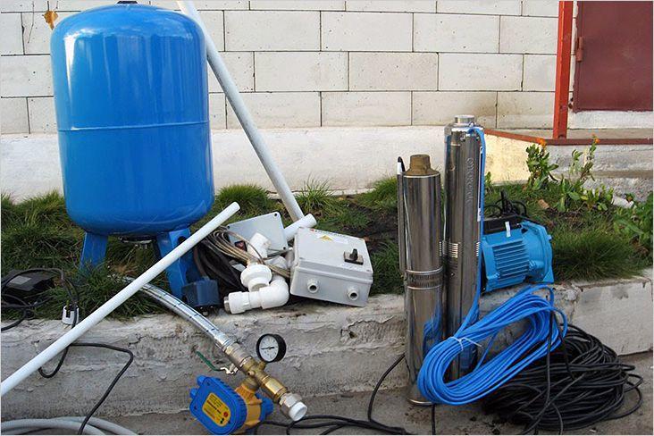 Необходимое оборудование для скважины на воду