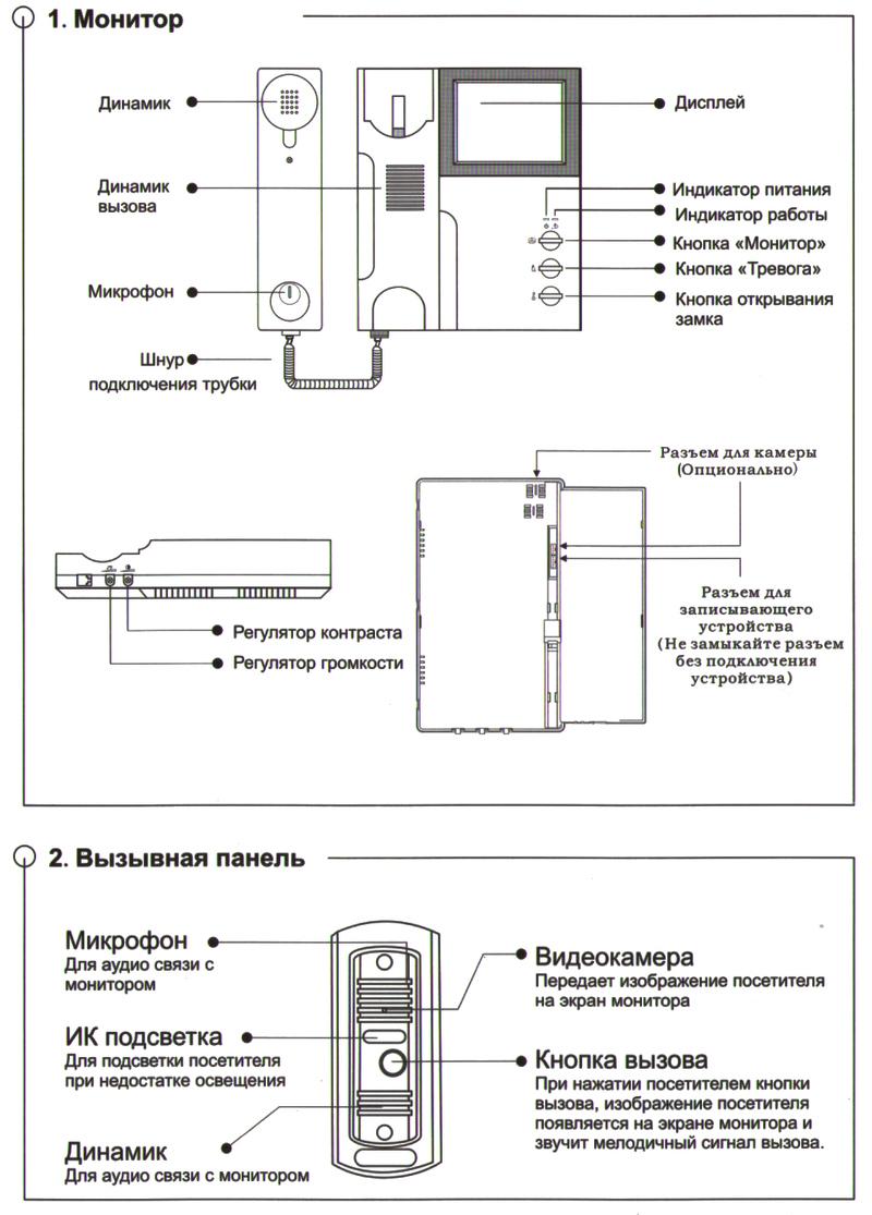 Схема электронные часы с радиоприемником