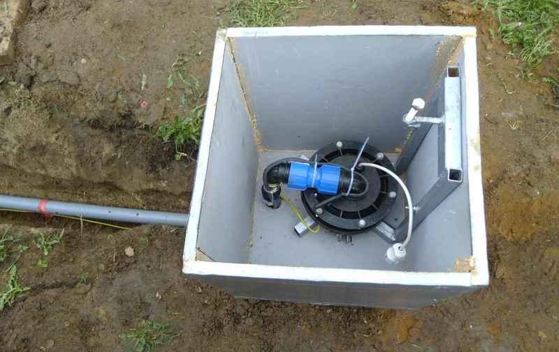 Обустройство оборудования скважины в кессоне для защиты от замерзания