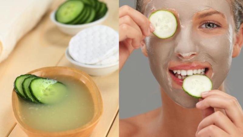 Огуречная маска поможет оздоровить и разгладить кожу лица