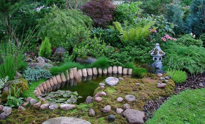 Декоративный водоем своими руками фото 308