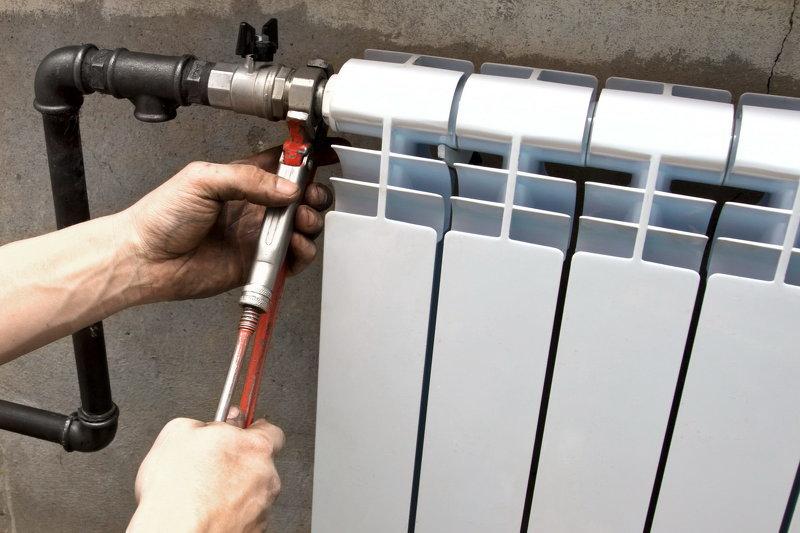 Радиатор отопления монтаж своими руками фото