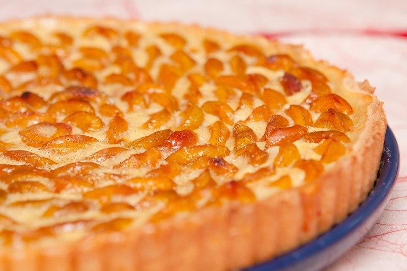 пирог с абрикосовым вареньем рецепт с фото несложные