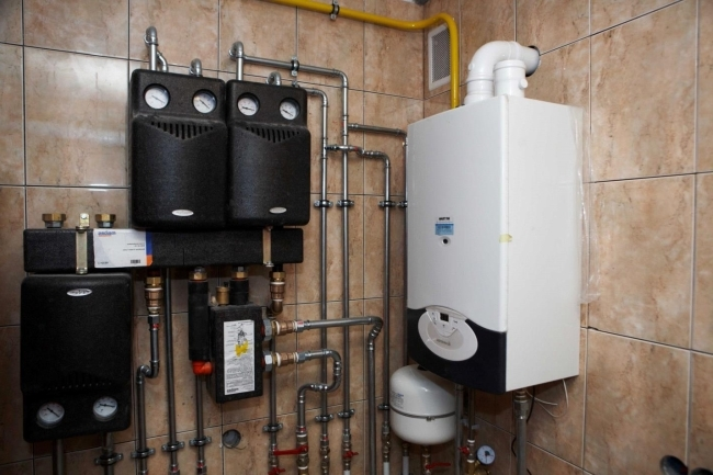 Отопление для дачного дома газом