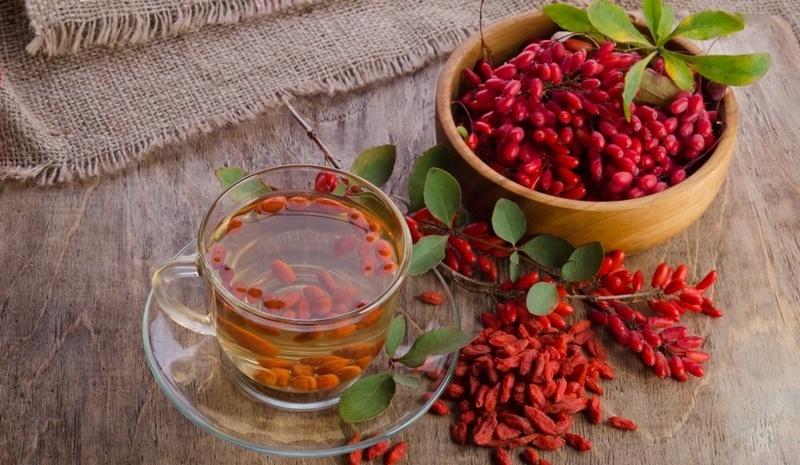Отвар из плодов и корней барбариса