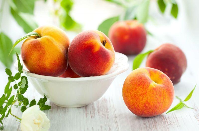 Персики полезны для людей с болезнями сердца