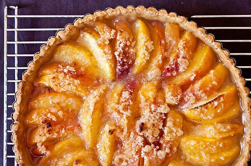 Блюда из персиков всегда вкусные и ароматные