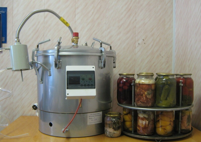 Автоклав для домашнего консервирования изготовить