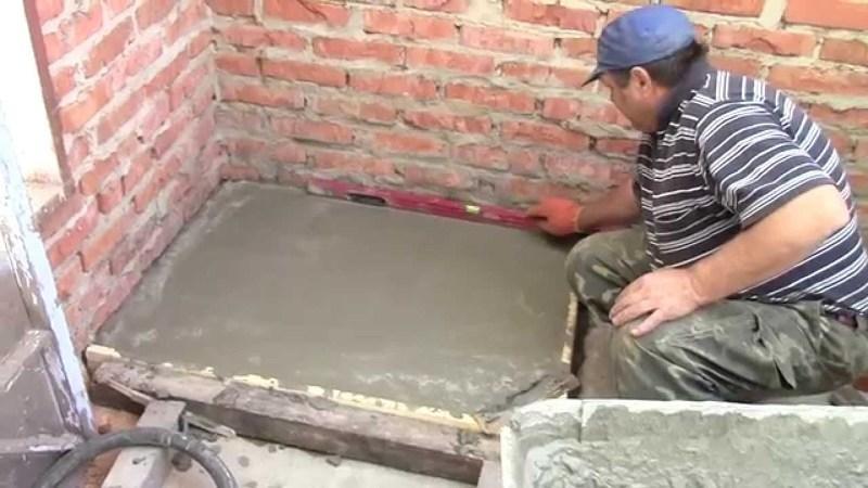 Подготовка фундамента печи для бани из кирпича, фото