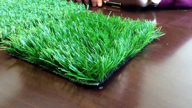 Покрытие искусственная трава - преимущества