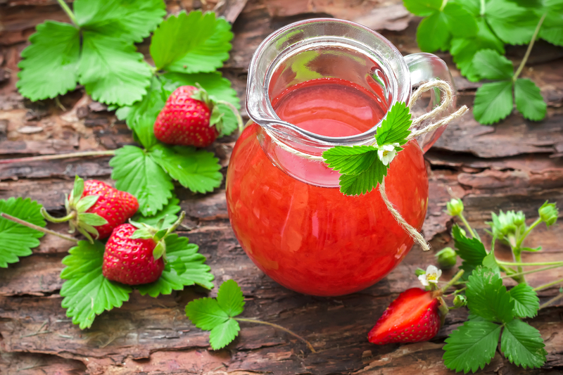 Напитки из земляники лесной, польза при диабете