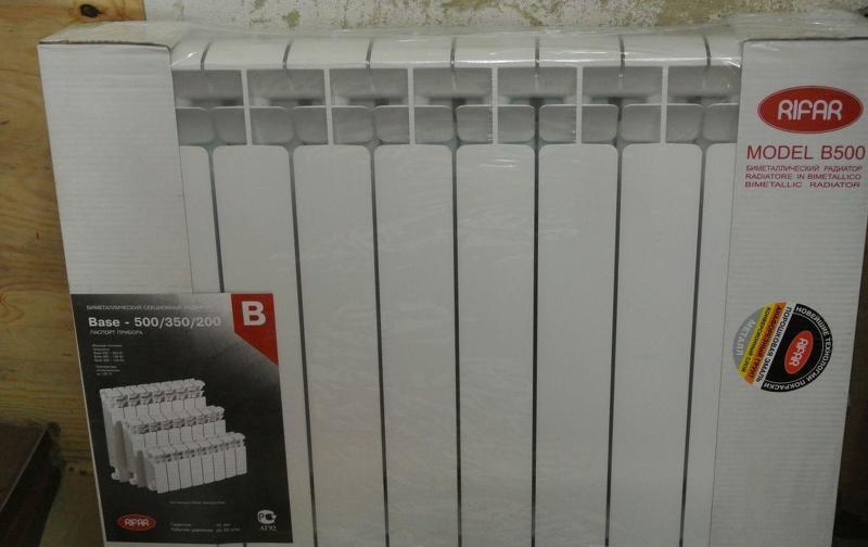Радиаторы Рифар биметал