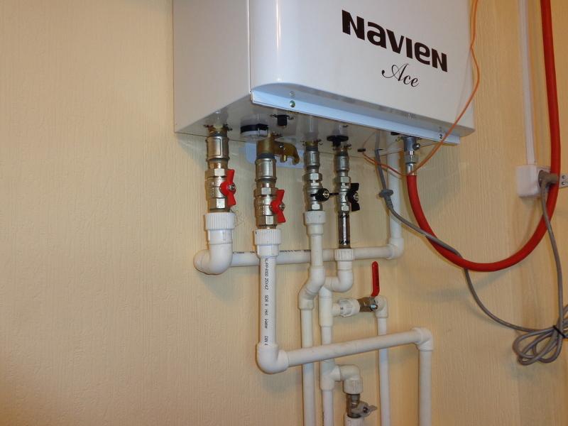 Подключение газового котла отопления своими руками
