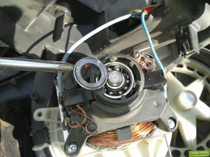 Ремонт двигателя газонокосилки Bosh