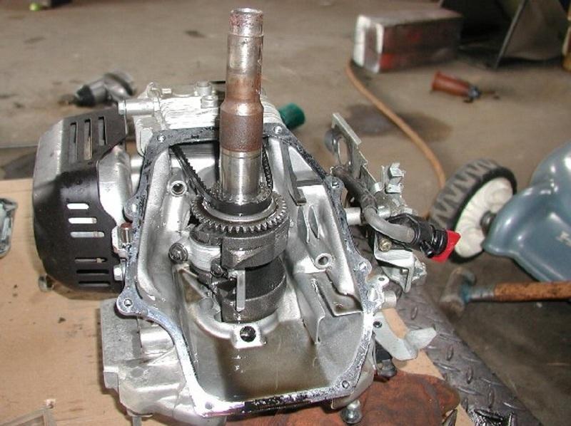 Ремонт двигателя электрокосилки своими руками